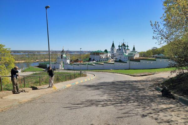 Панорама Вознесенского Печерского монастыря