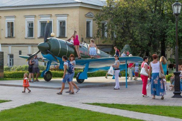 Макет самолёта Ла-7