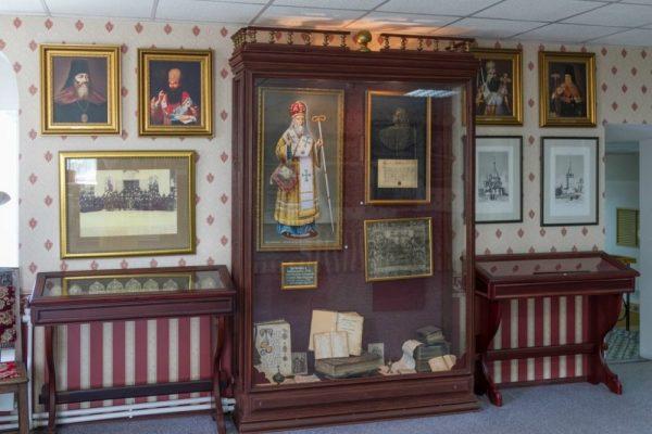 Экспозиция музея, посвященная Нижегородской епархии
