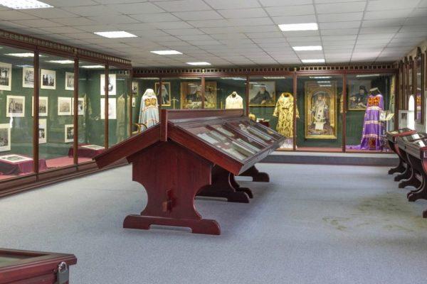Экспозиция «архиерейского» зала