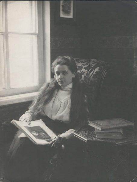 Е. П. Пешкова, жена А. М. Горького г. Нижний Новгород Фото М. П. Дмитриев 1901 г.