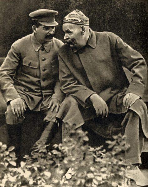 Горький и Сталин