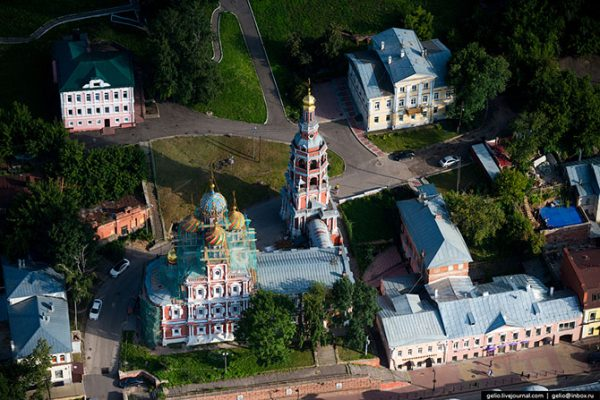 Строгановская церковь.