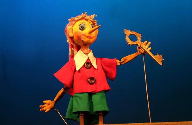 Кукольный спектакль Золотой ключик