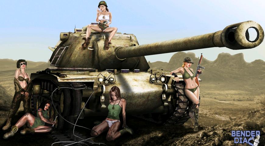 Порно ролик танки85