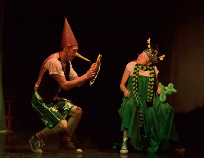 Спектакль Буратино