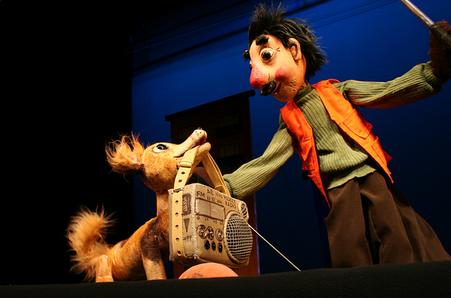 Кукольный спектакль Жить невозможно без правил дорожных
