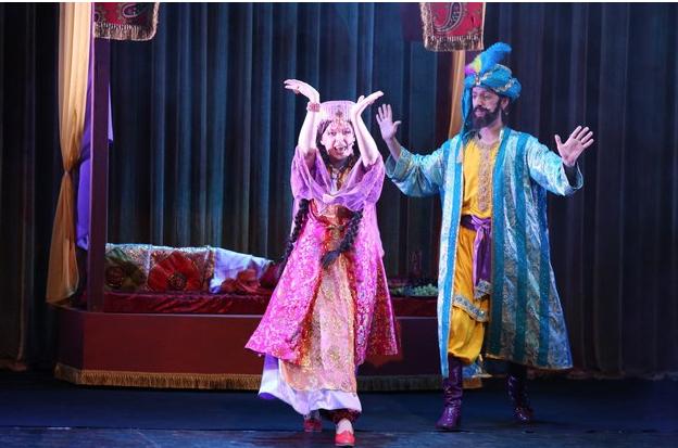 Спектакль  Али-Баба и сорок разбойников