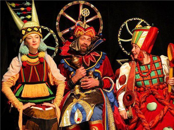 Спектакль Сказка о царе Салтане