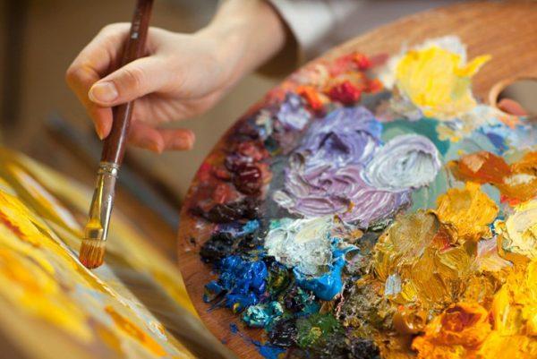 Рисование масляными красками с Еленой Угрюмовой