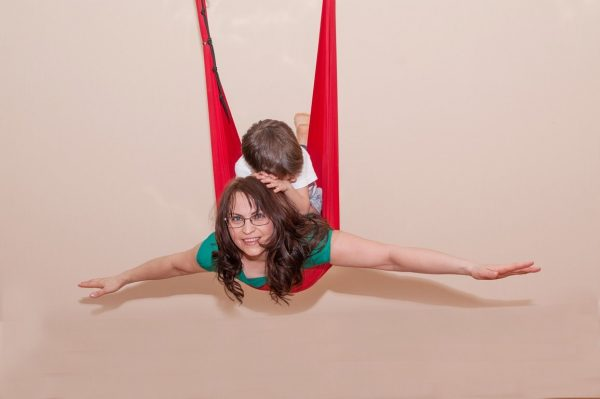 Воздушная йога с Ириной Суниной: Мама+ребёнок