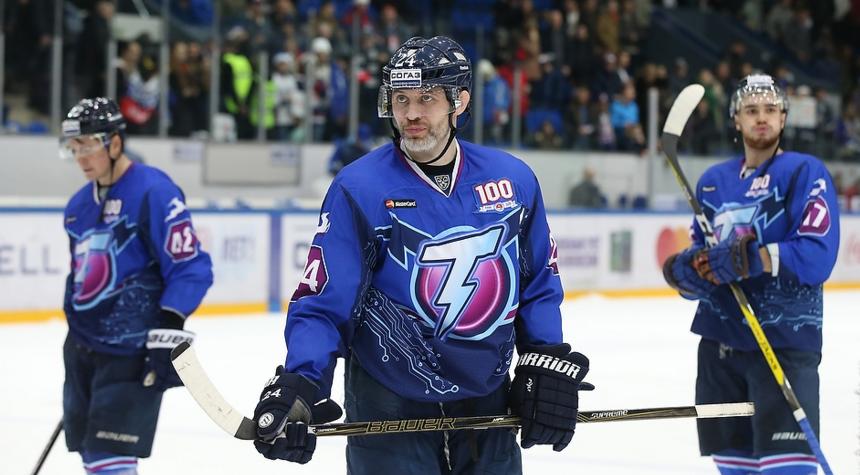 Игра х/к «Торпедо Нижний Новгород»