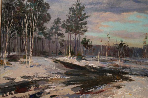 Выставка живописи В.И. Сторожева