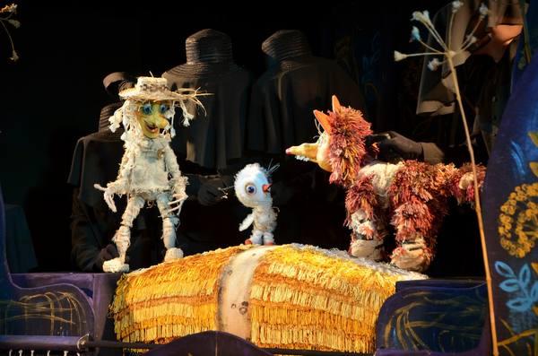 Кукольный спектакль Аистенок и пугало