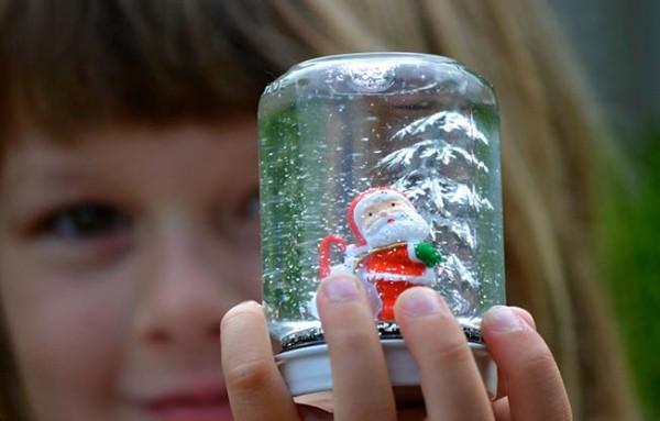 Новогодний шар стеклянный своими руками
