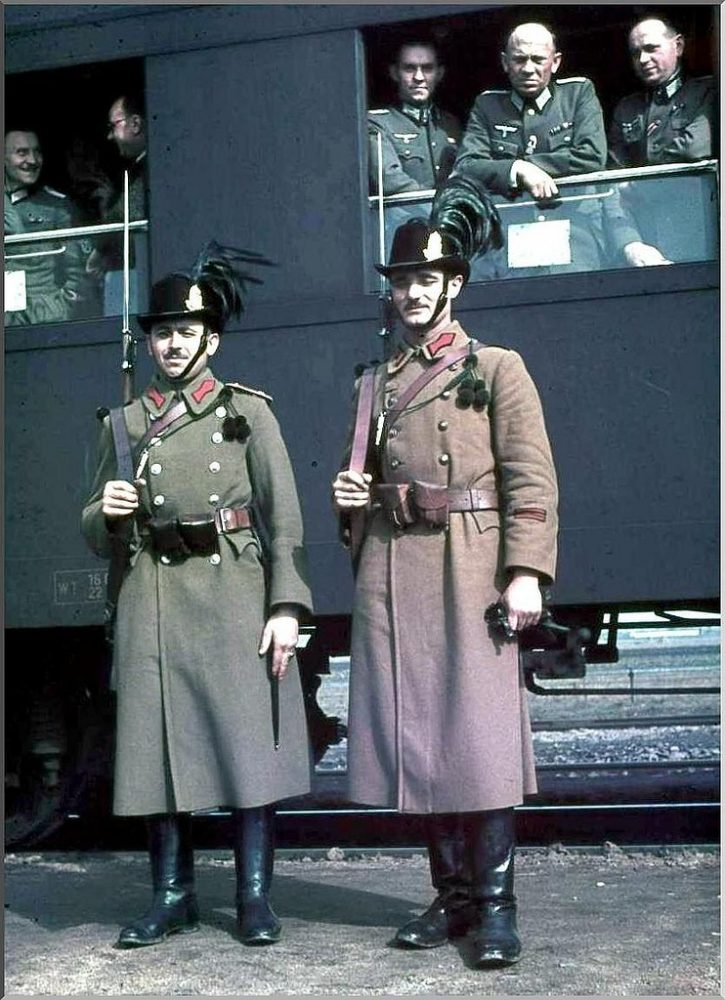 Венгерские солдаты, 1941: