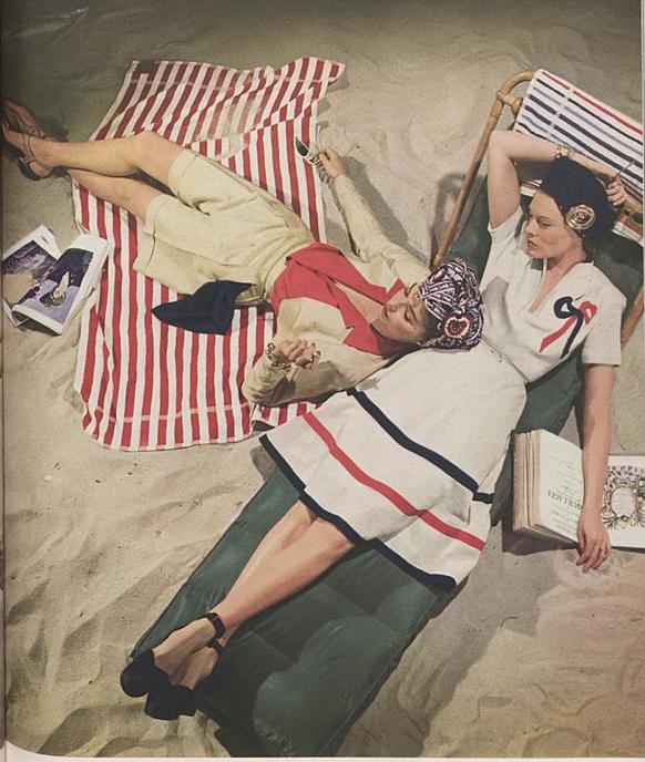 Фотограф John Rawlings для журнала Vogue за июнь 1941 года