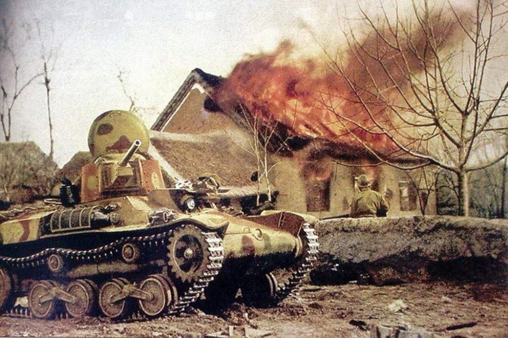 Война глазами врага, 1941 год, в цветных фотографиях, Фашисты, ретро-фото, архив