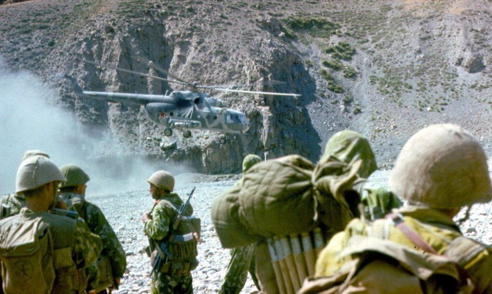 Редкие фото Афганской войны