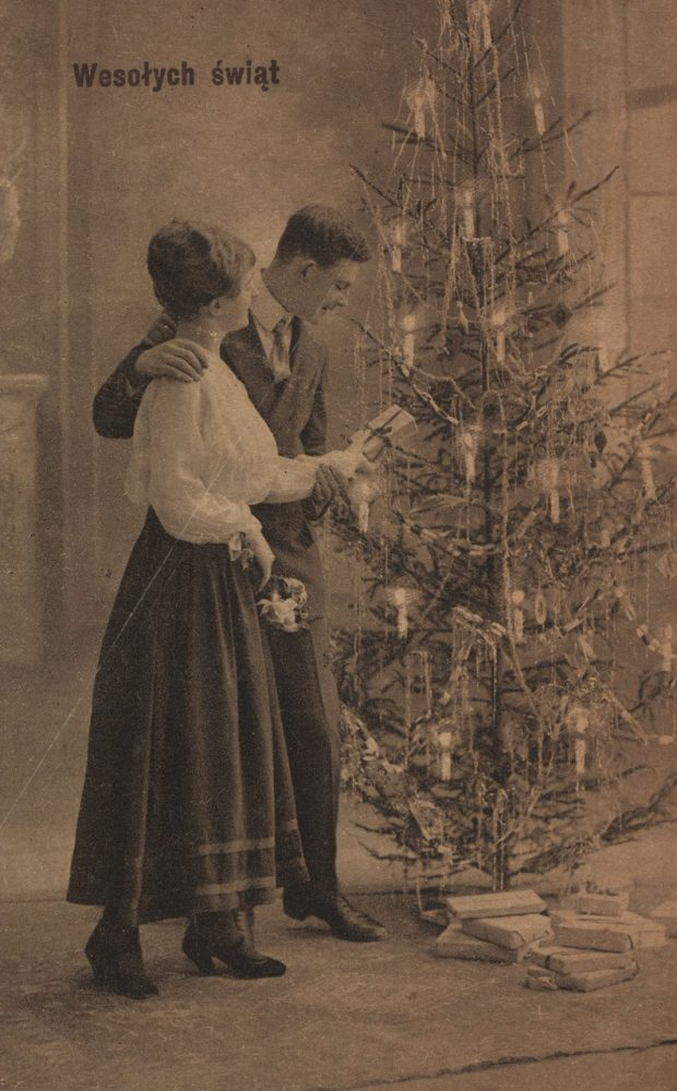 Рождественские открытки