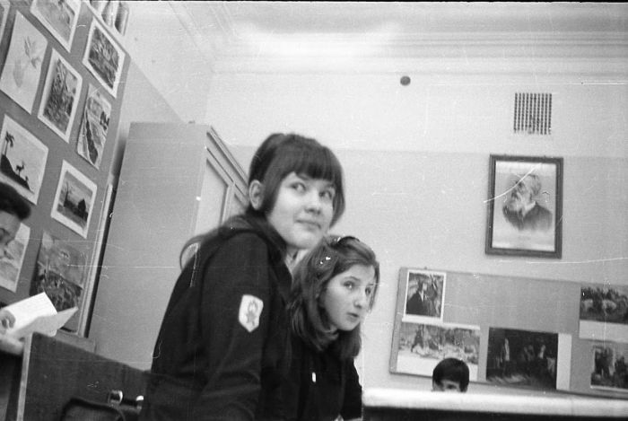 Советские школьники, старшеклассники. Повседневность (51 фото)
