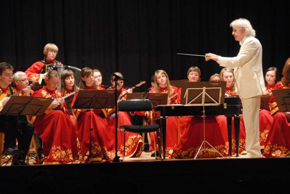 Концерт Нижегородского русского народного оркестра