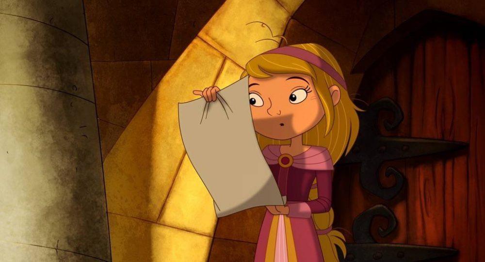 Приключенческий мультфильм Отважный рыцарь