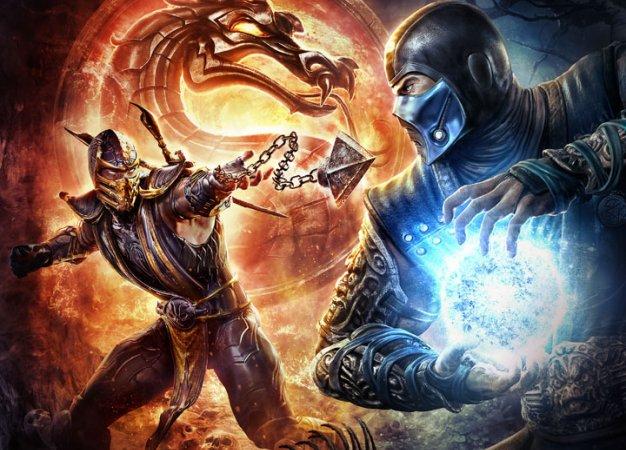 Соревнование по игре в Mortal Kombat 9 на Xbox 360