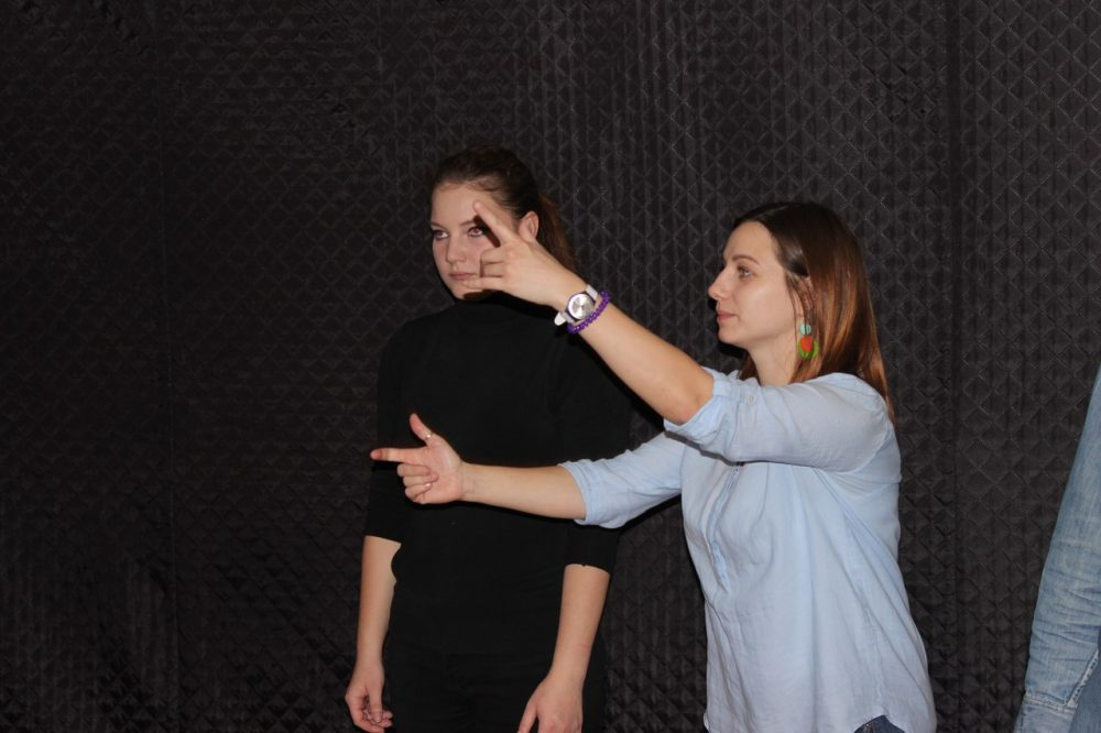 Тренинг по актёрскому мастерству