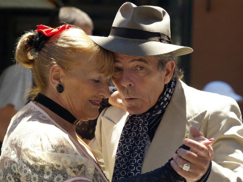 Курс аргентинского танго для людей старшего возраста