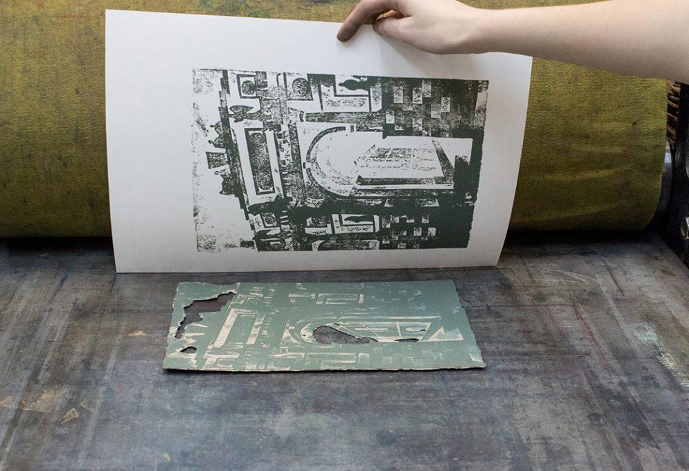 Как сделать печатную работу