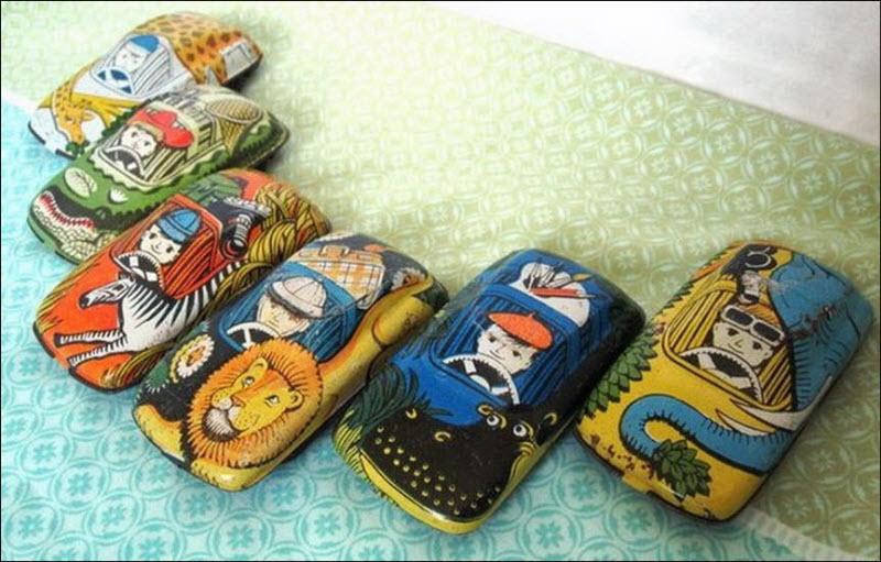 Ретро-игрушки из СССР. Альбом. Советские игрушки для мальчиков и девочек.