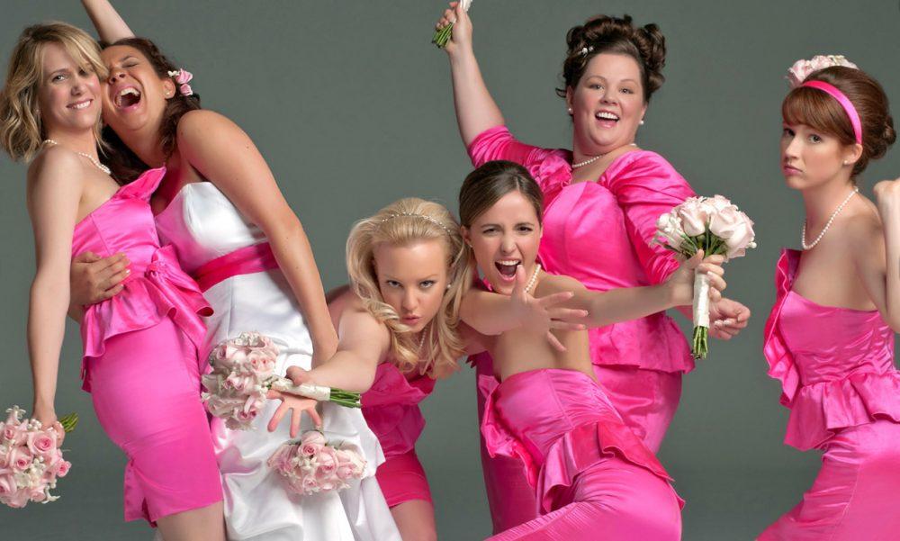 Девушки на девичнике свадьбе