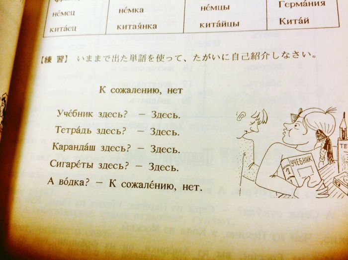 Японский учебник русского языка