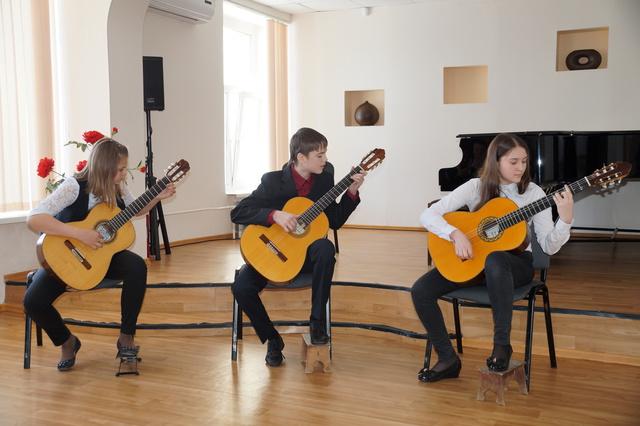 I Открытый Областной Конкурс юных исполнителей на классической гитаре