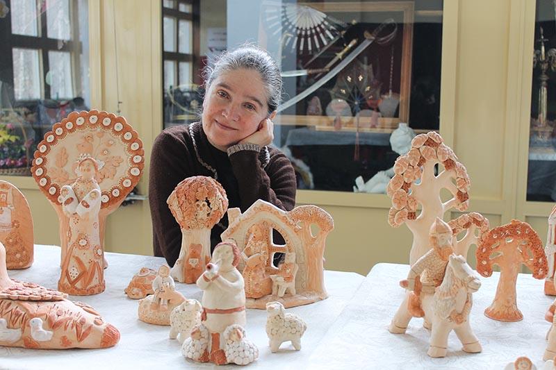 Выставка глиняной игрушки РАЙСКИЙ САД