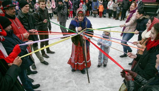 Фольклорно-этнографический праздник «Щёлоковская масленица»!