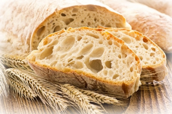 A loaf of ciabatta bread to the rescue!