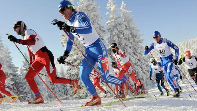 Лыжные соревнования Единое Сормово. День здоровья