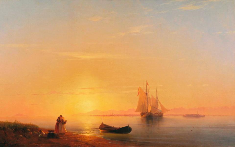 Выставка картин Вдохновленные морем