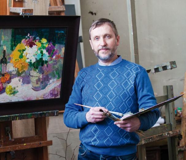 Выставка нижегородского художника Алексея Гарина
