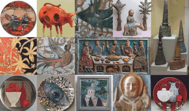 Выставка ВОЛЖСКАЯ МОЗАИКА