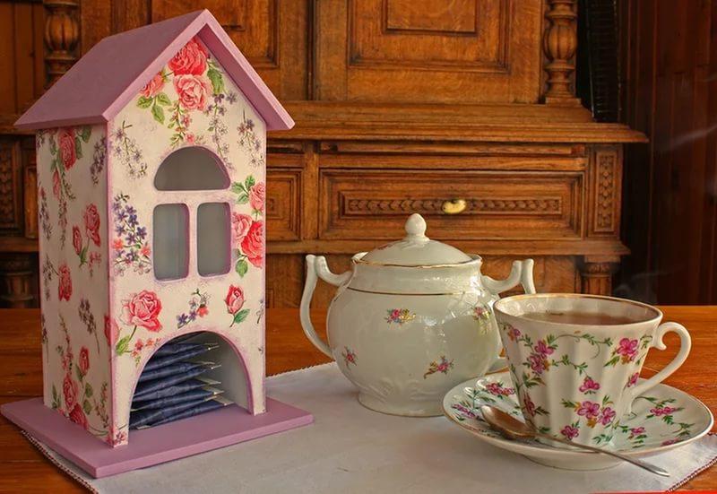 Красивый чайный домик своими руками 89