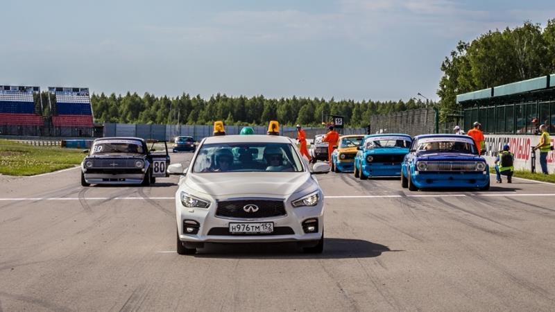 Тренировочные сборы для участников кольцевых автогонок