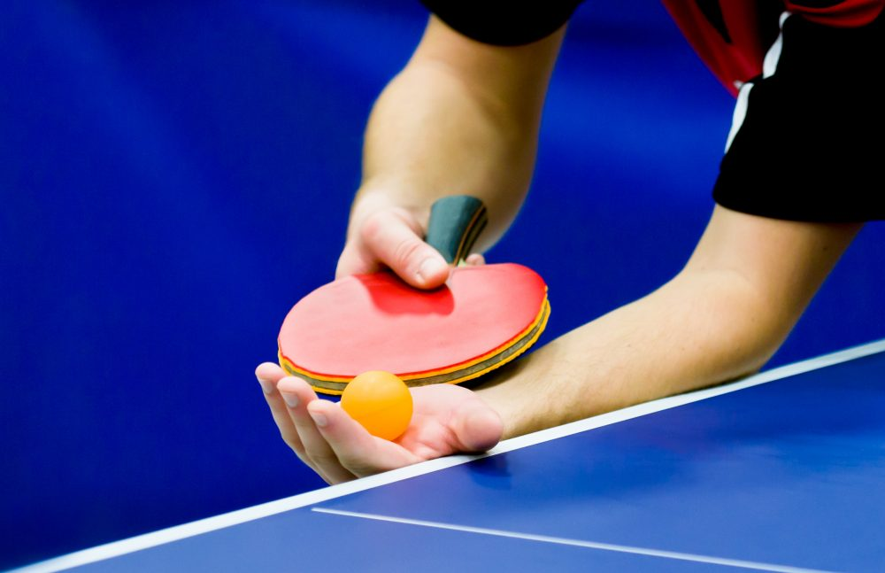 Table tennis court images