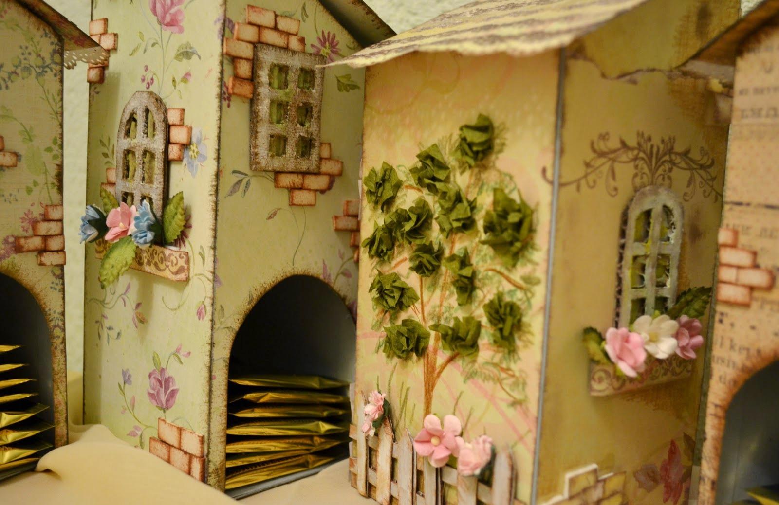 Декорирование чайного домика