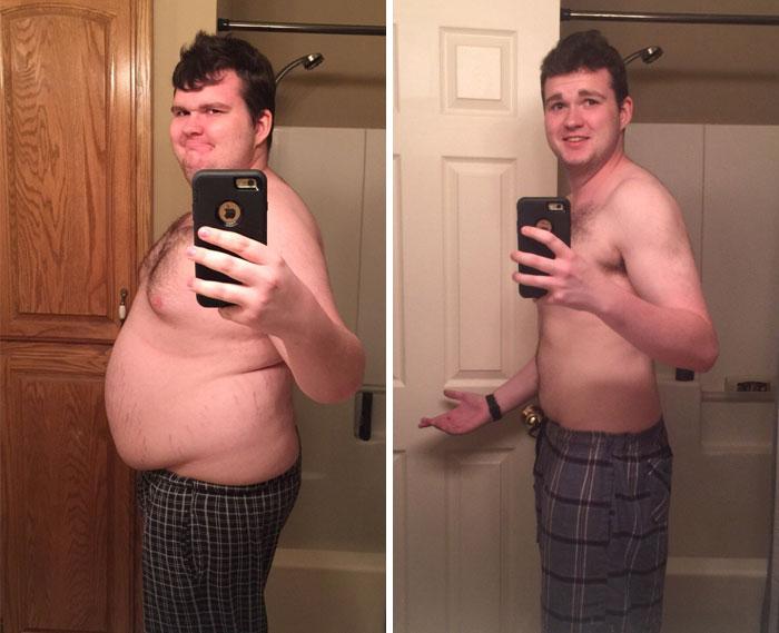 Толстые люди и как они похудели