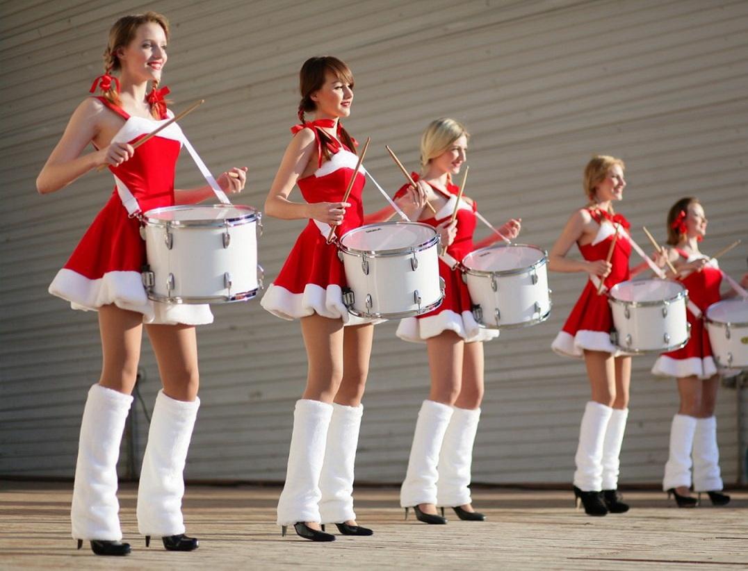 Конкурс веселые барабанщики как сделать