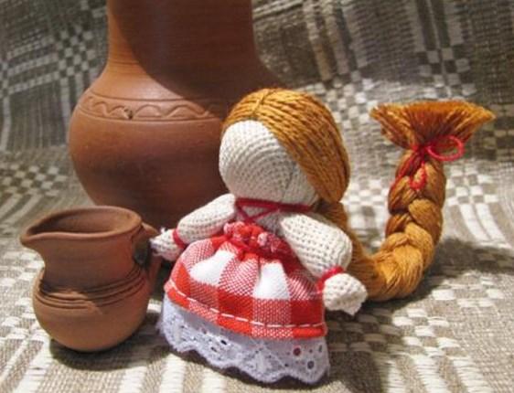 Как сделать куклу мотанку на счастье