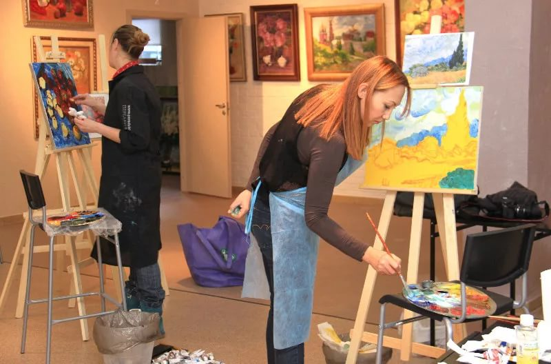 Мастер классы по живописи в твери